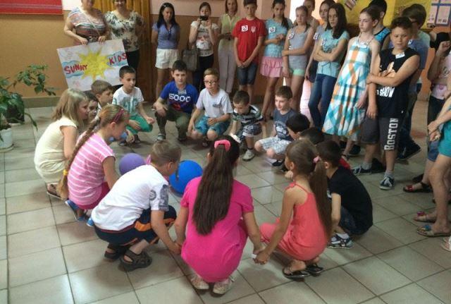 Літній мовний табір у Мукачеві
