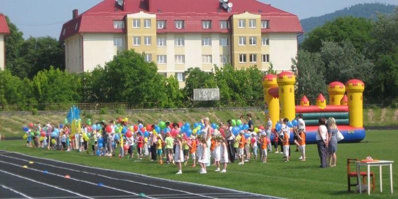 Малі олімпійські ігри серед дошкільнят у Мукачеві