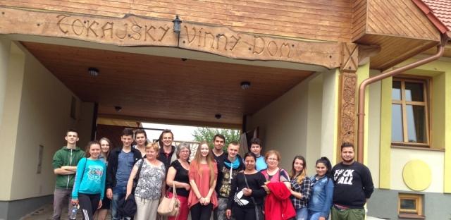 Студенти Свалявського технічного коледжу у Словаччині