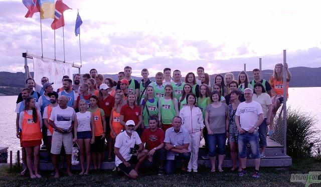 Учасники літнього табору на воді у Словаччині, Олена Дуло