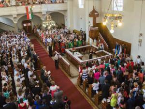 Дипломи ЗУІ традиційно вручають у реформатській церкві