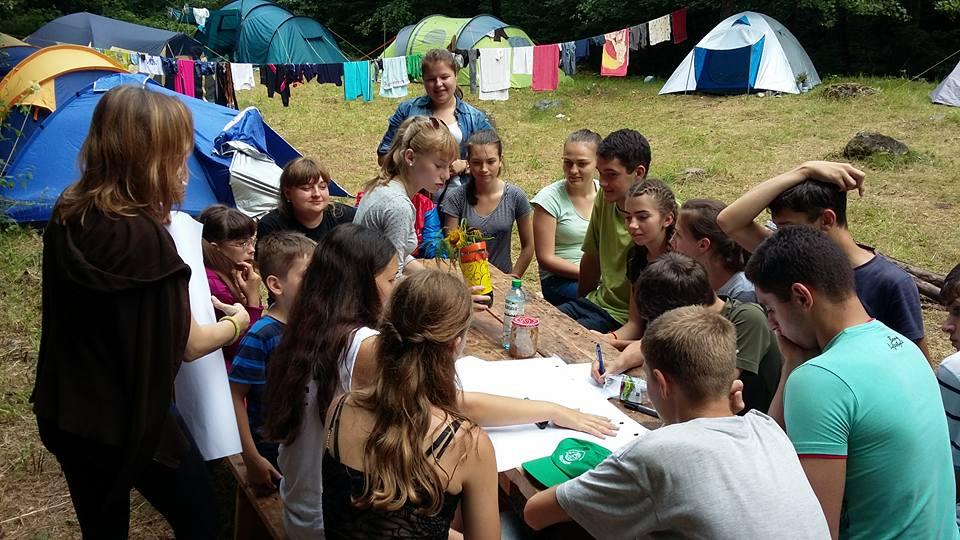 """Екотабір """"Школа у природі"""" в Іршавському районі"""