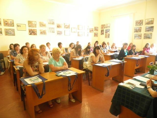 Учасники тренінгу з викладання прав людини у ЗІППО