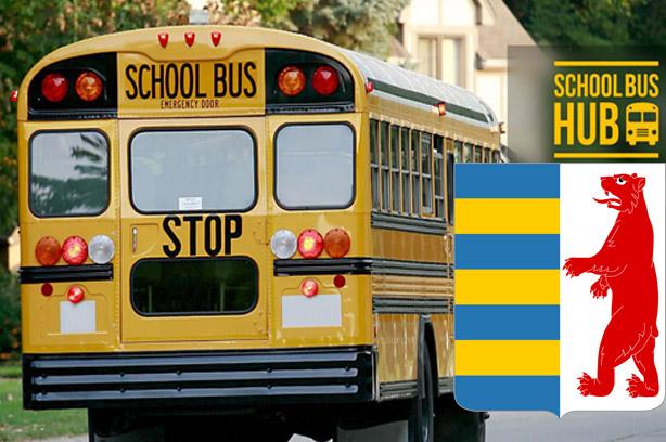 Довезення учнів до опорних шкіл - автобус, Закарпаття