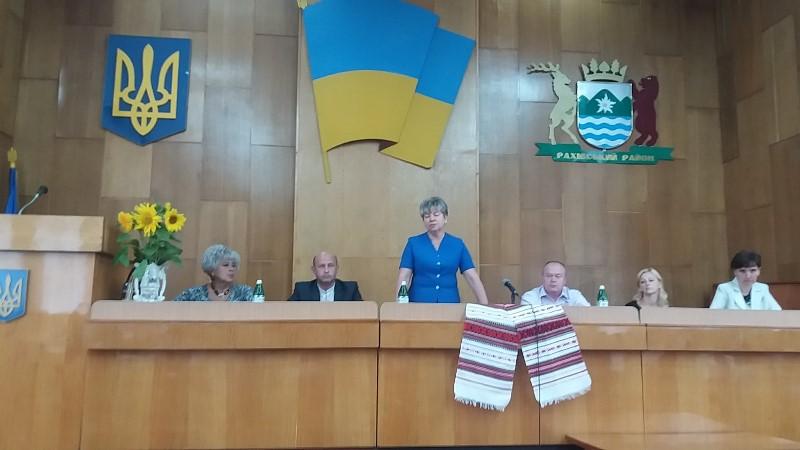 Ганна Сопкова, Дні департаменту освіти і науки Закарпатської ОДА на Рахівщині