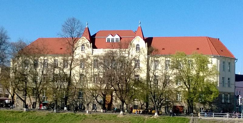 Лінгвістична гімназія імені Т. Шевченка в Ужгороді