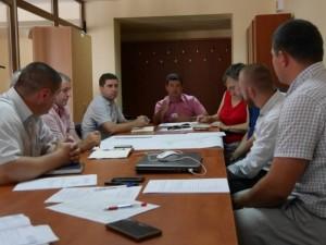 Нарада щодо будівництва школи в Ужгороді