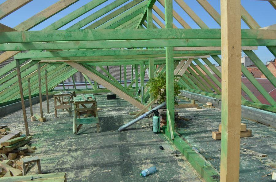 Реконструкція даху спеціалізованої школи №3 ім. Ф. Ракоці II в Мукачеві