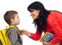 Школяр із мамою