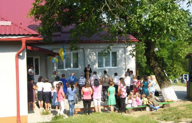 Відкриття дитсадка в Імстичові