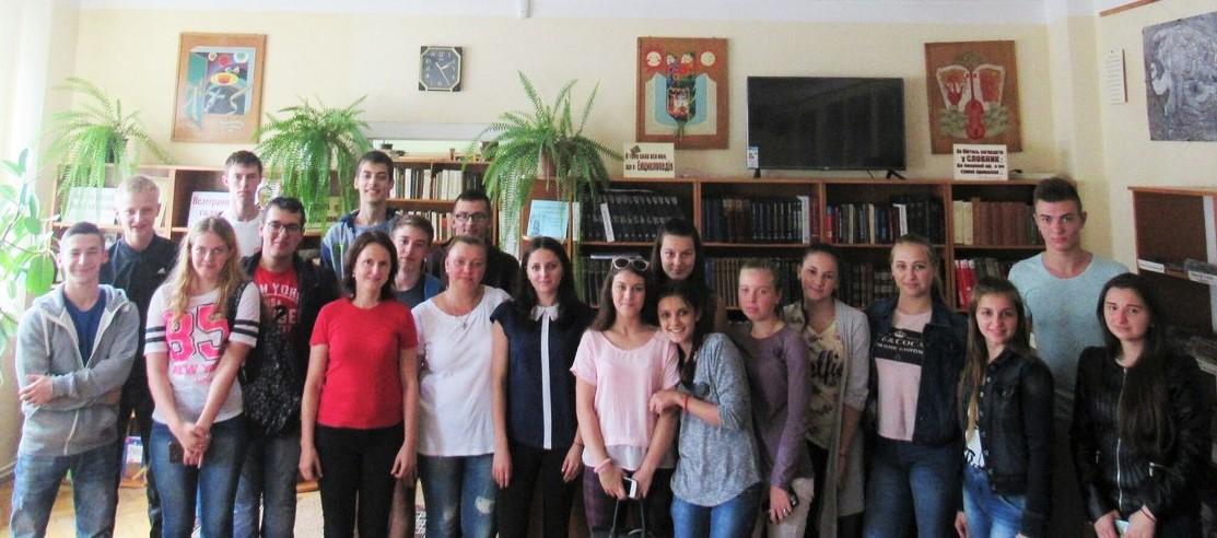 В Ужгороді студенти УТЕК КНТЕУ вже відзначили ювілей Михайла Грушевського