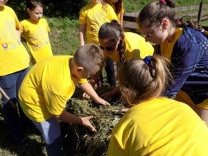 Школярі на Іршавщині
