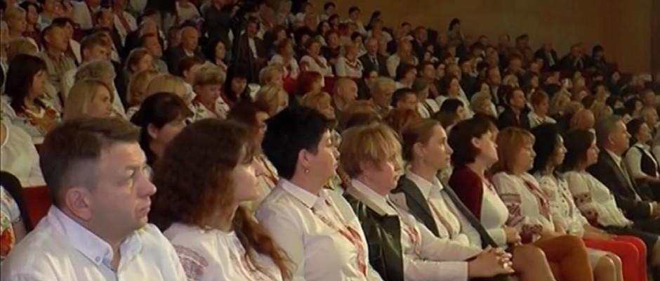Департамент освіти і науки Закарпатської ОДА організував рочистості у ПАДІЮНі. Ганна Сопкова