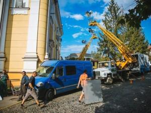 Зйомки українсько-словацького фільму Межа