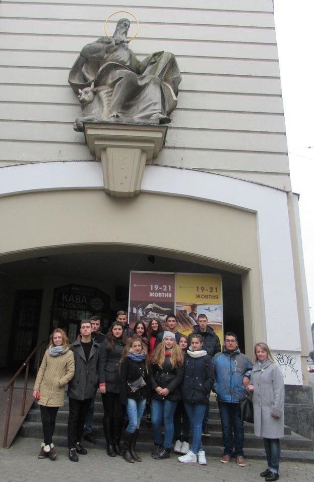 Екскурсія студентів УТЕК та УТЕІ по Львову