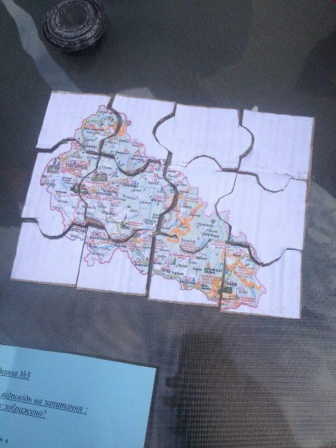 Карта Закарпаття з кулінарними родзинками