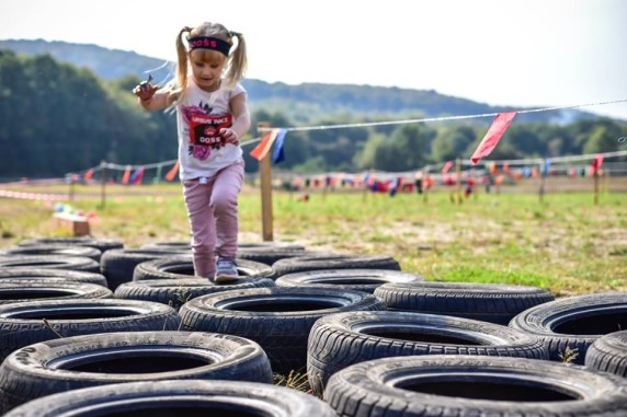 Гонка героїв - у фестивалі взяли участь і наймолодші :)