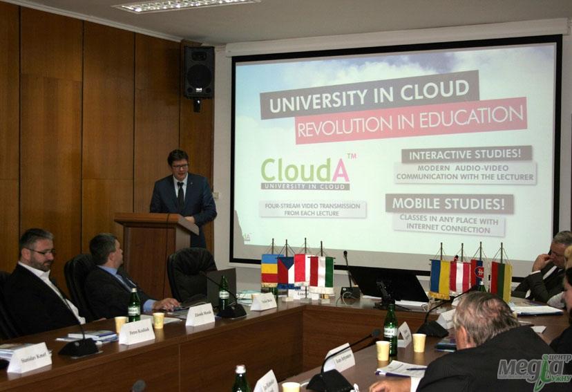 Засідання міжнародного консорціуму університетів відбулося в УжНУ