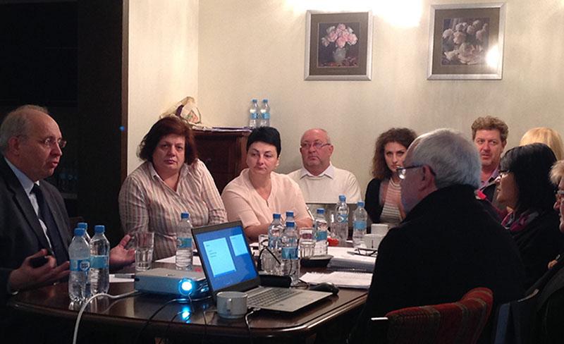 Павло Хобзей, Тетяна Палько та члени робочої групи