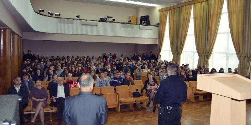 Поліція в МДУ - Мукачівському державному університеті