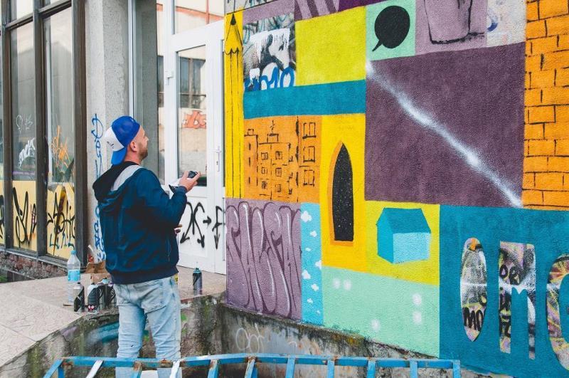 """Розмальовані стіни """"ПАДІЮНу"""" зможе побачити кожен охочий"""
