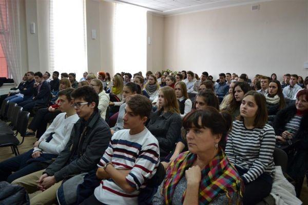 Відкриття Малої академії наук в Ужгороді