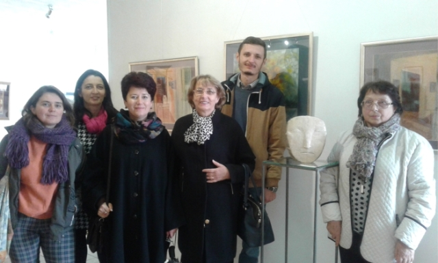 Викладачі Закарпатської академії мистецтв на виставці