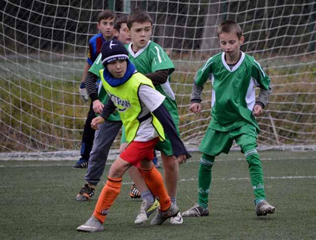 Змагання з футболу серед школярів на Закарпатті