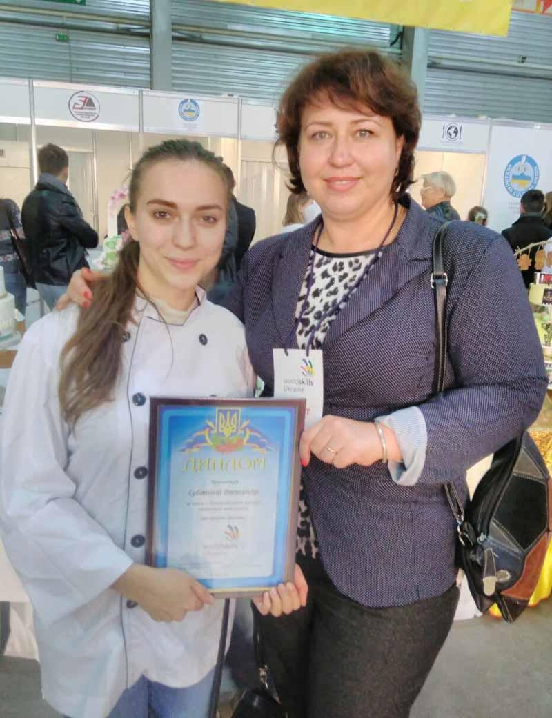 Учасники від УТЕК КНТЕУ - Олександра Суботіна та Маріанна Пічкар