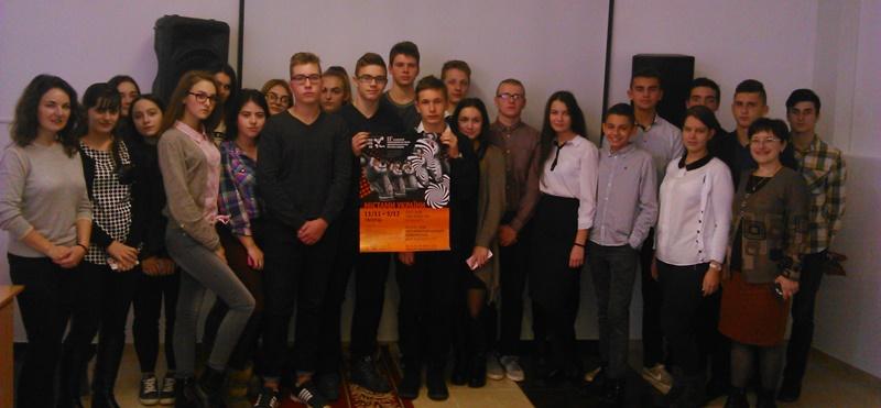 Учні лінгвістичної гімназії взяли участь у фестивалі кіно