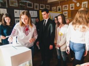 Вибори голови учнівського самоврядування у ПАДІЮНі