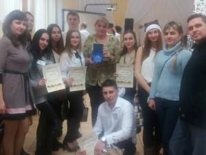 Команда викладачів та студентів УТЕК КНТЕУ з нагородами