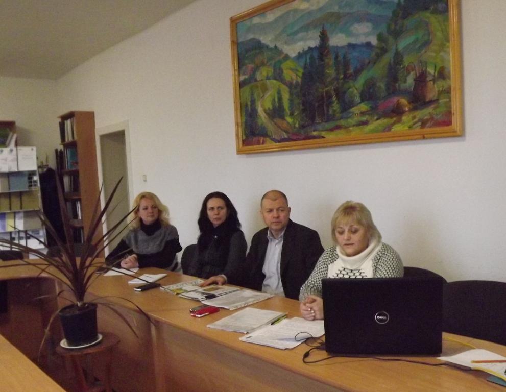 Засідання викладачів історії ПТНЗ