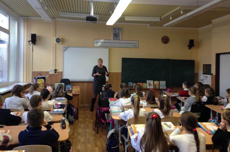 Зустріч із Галиною Малик в Ужгородській класичній гімназії