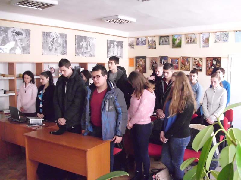 Студенти вшанували пам'ять жертв хвилиною мовчання