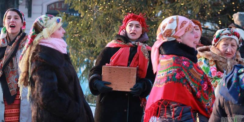 Колядники в Ужгороді
