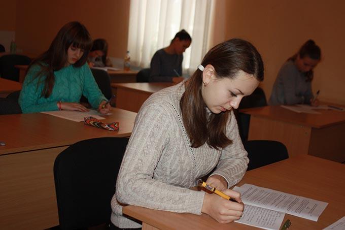 Під час олімпіади з української мови та літератури