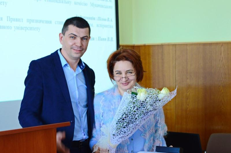 Новообрана голова вченої ради МДУ Тетяна Щербан