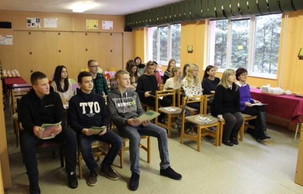 Учні Ужгородської класичної гімназії у Пряшеві