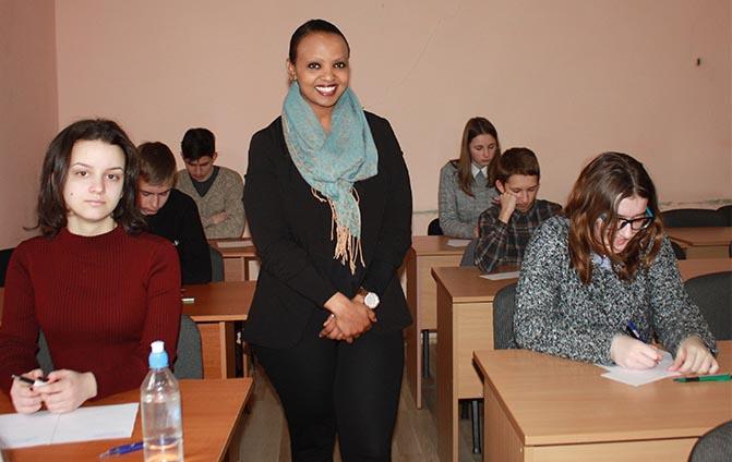 Під час олімпіади з англійської мови у ЗІППО