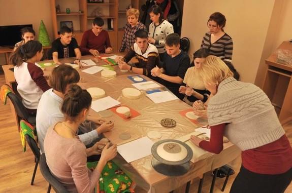 Майстер-клас для дітей із Луганщини на Закарпатті