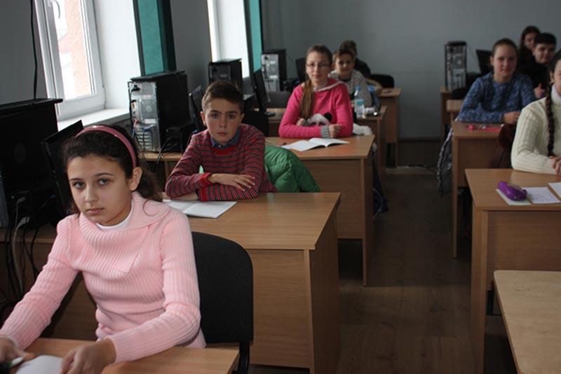 Учасники обласної олімпіади з математики