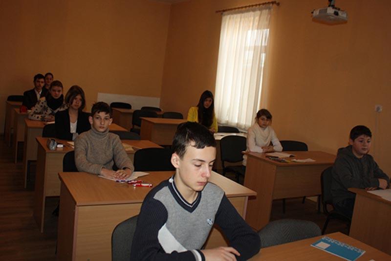 Учасники обласної олімпіади з математики на Закарпатті