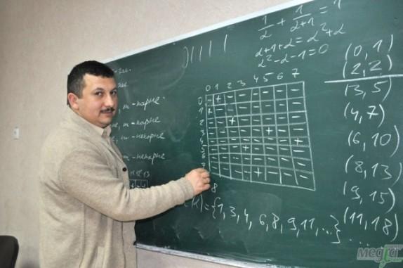 Заняття проводить Олександр Міца