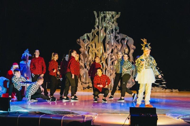Новорічний виступ у ПАДІЮНі в Ужгороді