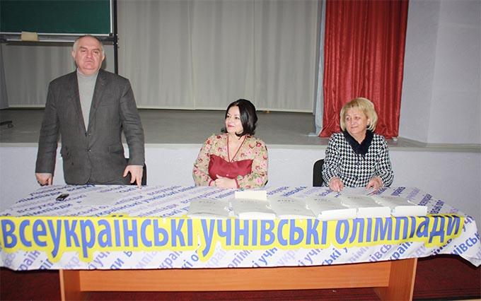 Відкриття олімпіади з української мови та літератури, Алла Галас
