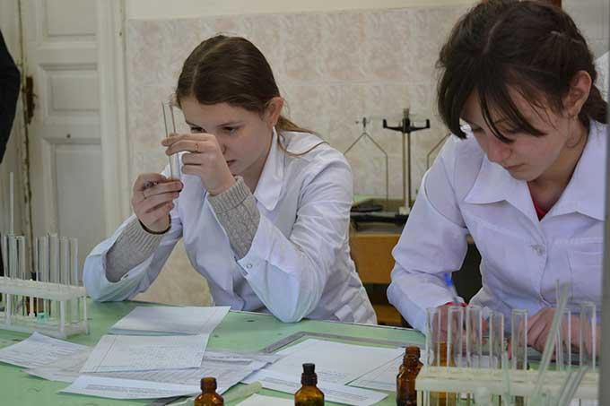 Обласна олімпіада з хімії на Закарпатті