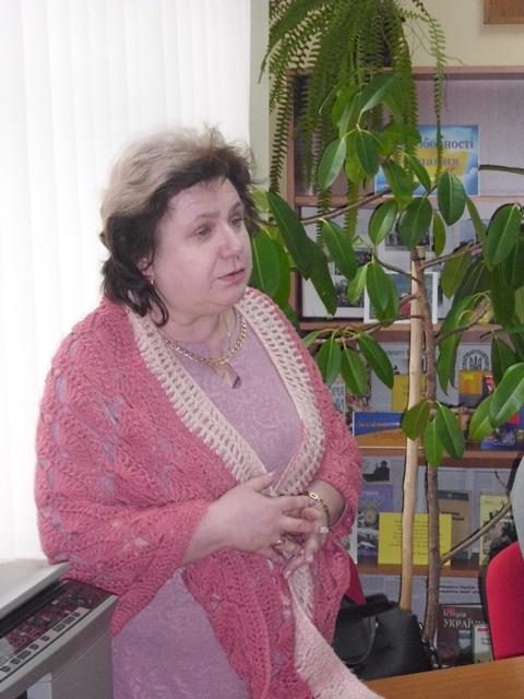 Літературознавець Наталія Ребрик