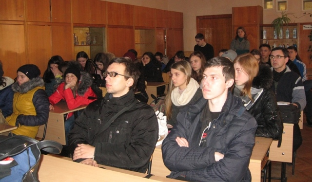 Студенти УТЕК КНТЕУ під час зустрічі
