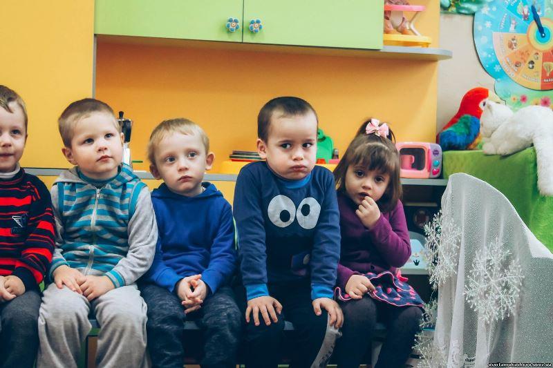 Дошкільнята в Мукачеві